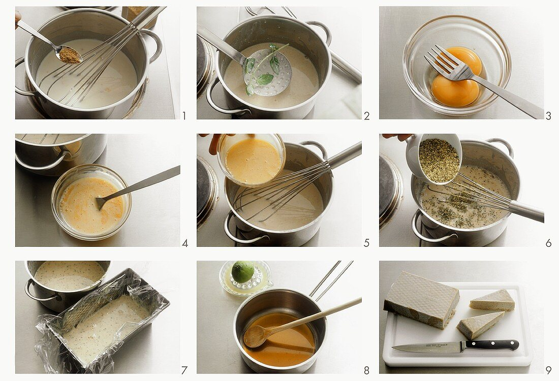 Making cardamom ice cream