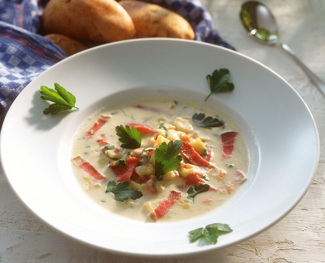Baden potato soup