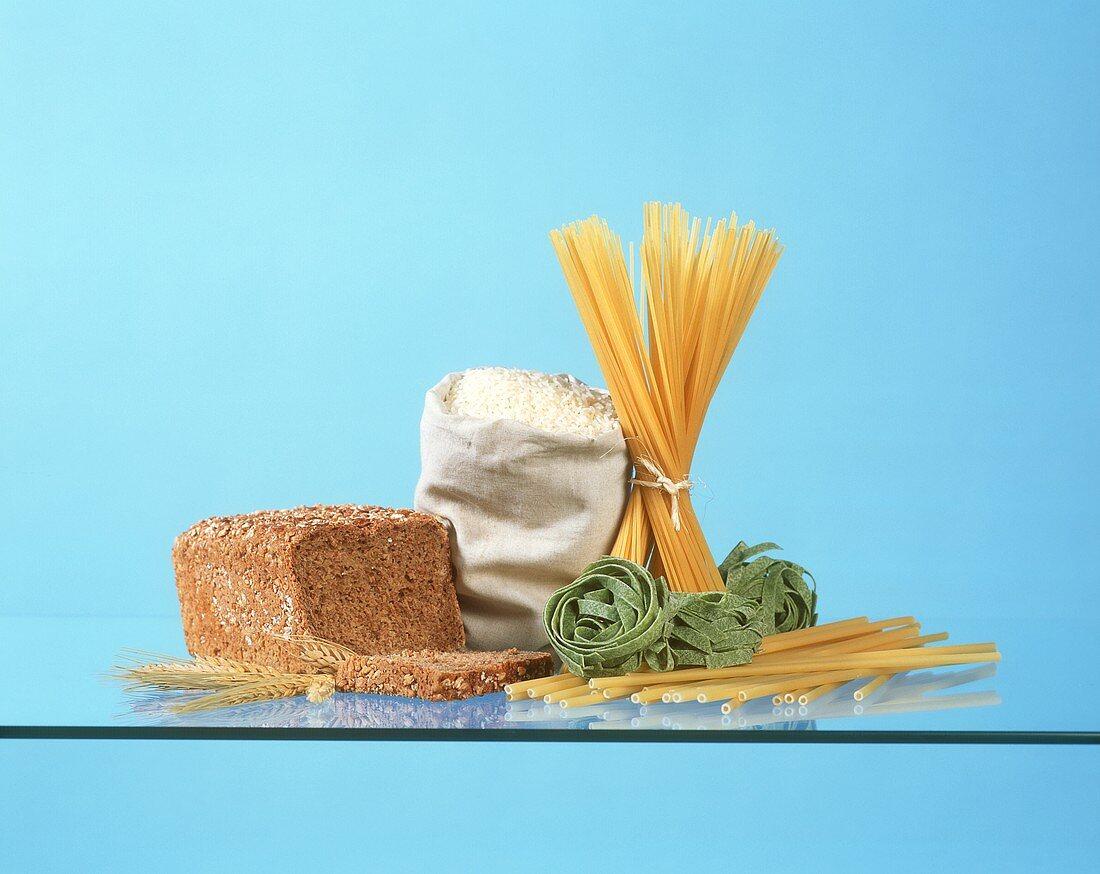 Food still life (food pyramid, part 3)