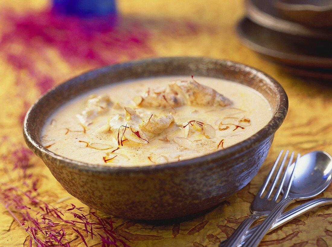 Sandh murgha (chicken soup), Himachal Pradesh, India