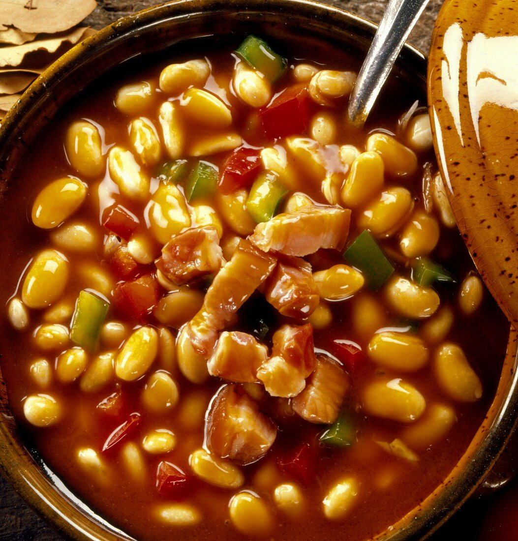 Serbian bean stew