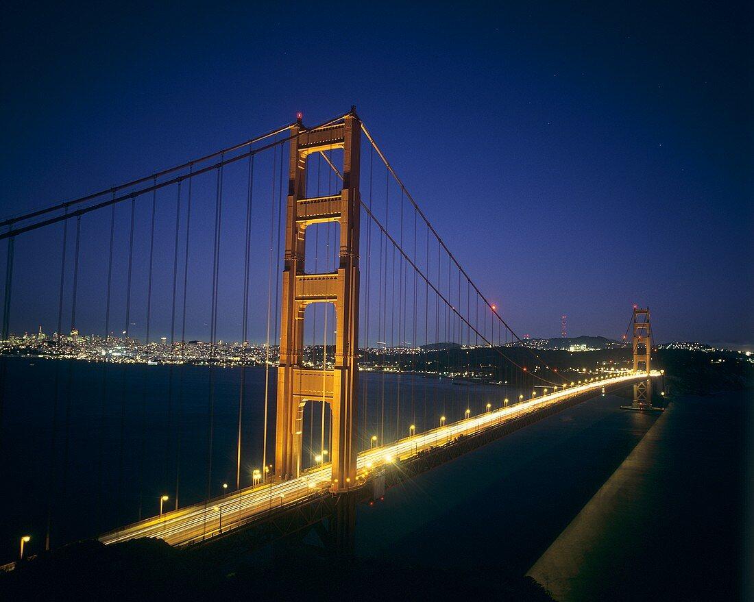 Die Golden Gate Bridge, San Francisco, Kalifornien, USA