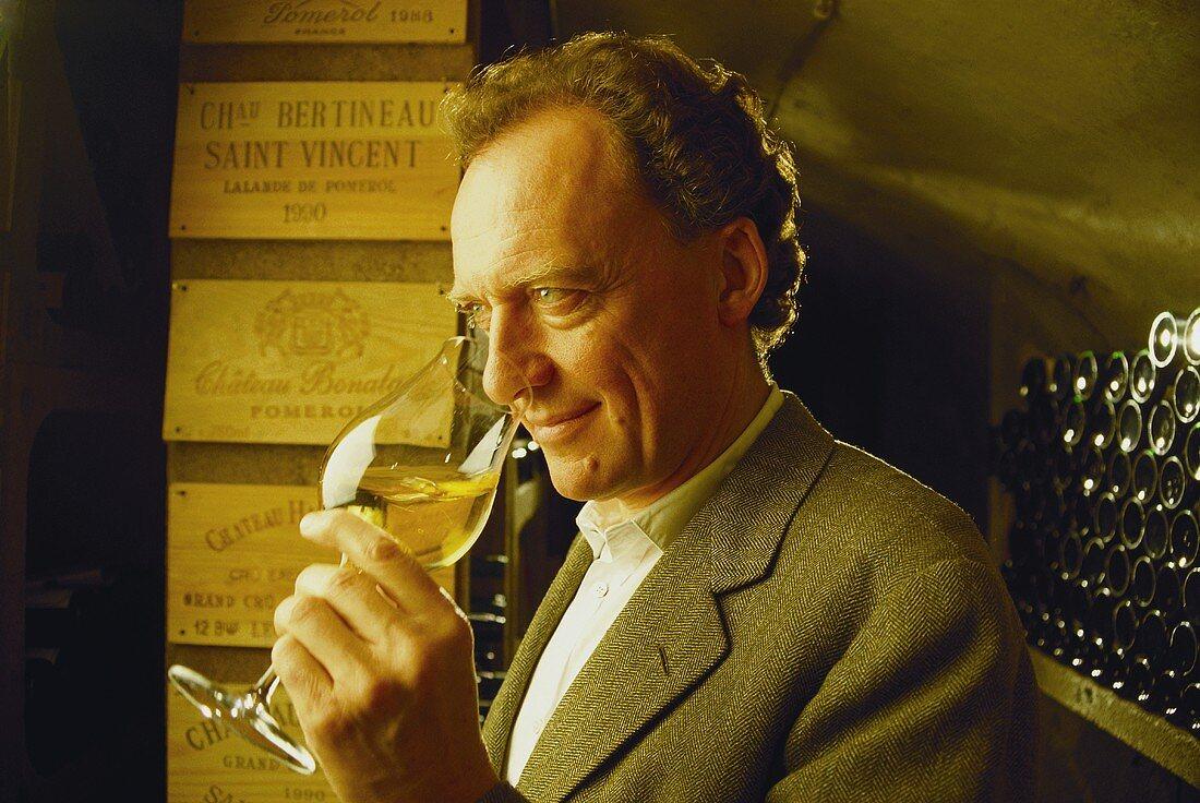 Alois Lageder, S. Tyrolean wine-maker, Margreid, Italy