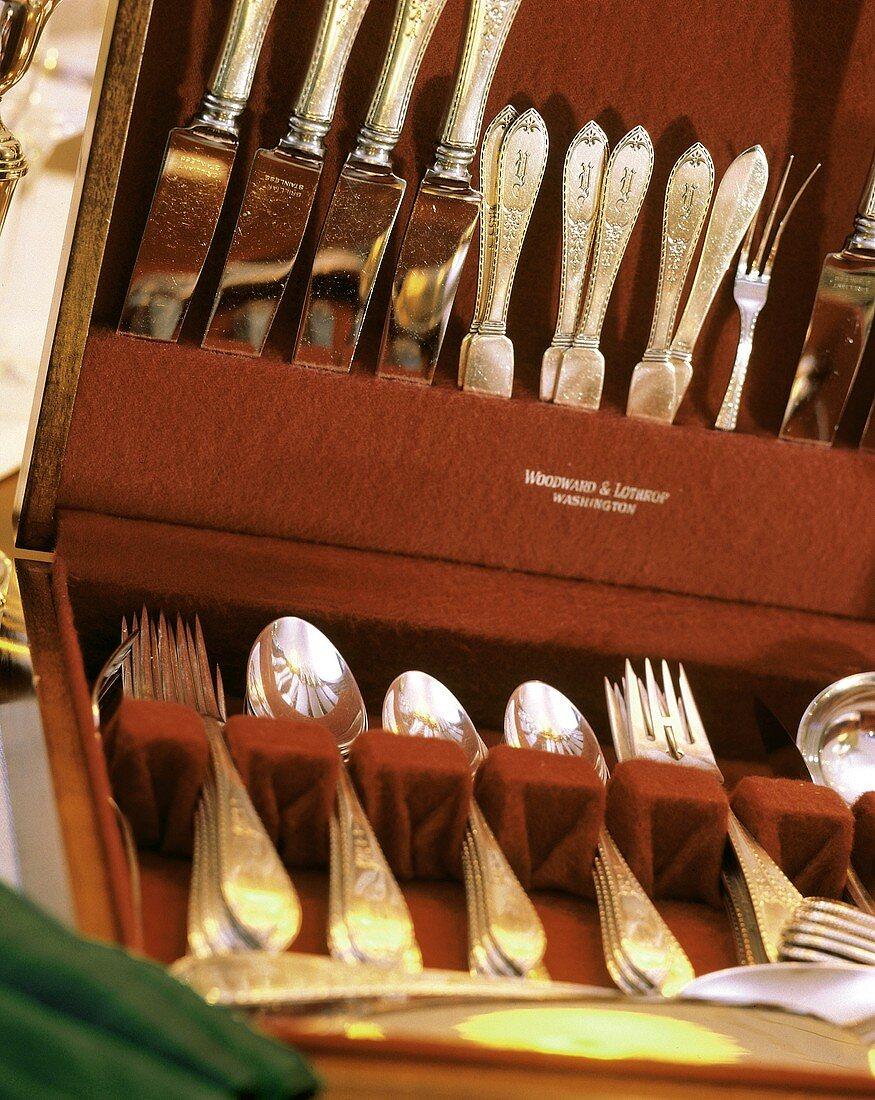Fine Silver in Storage Box
