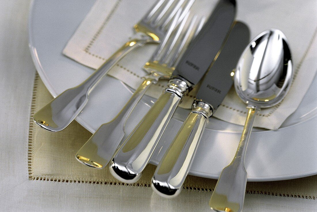 Silverware for a Single Place Setting