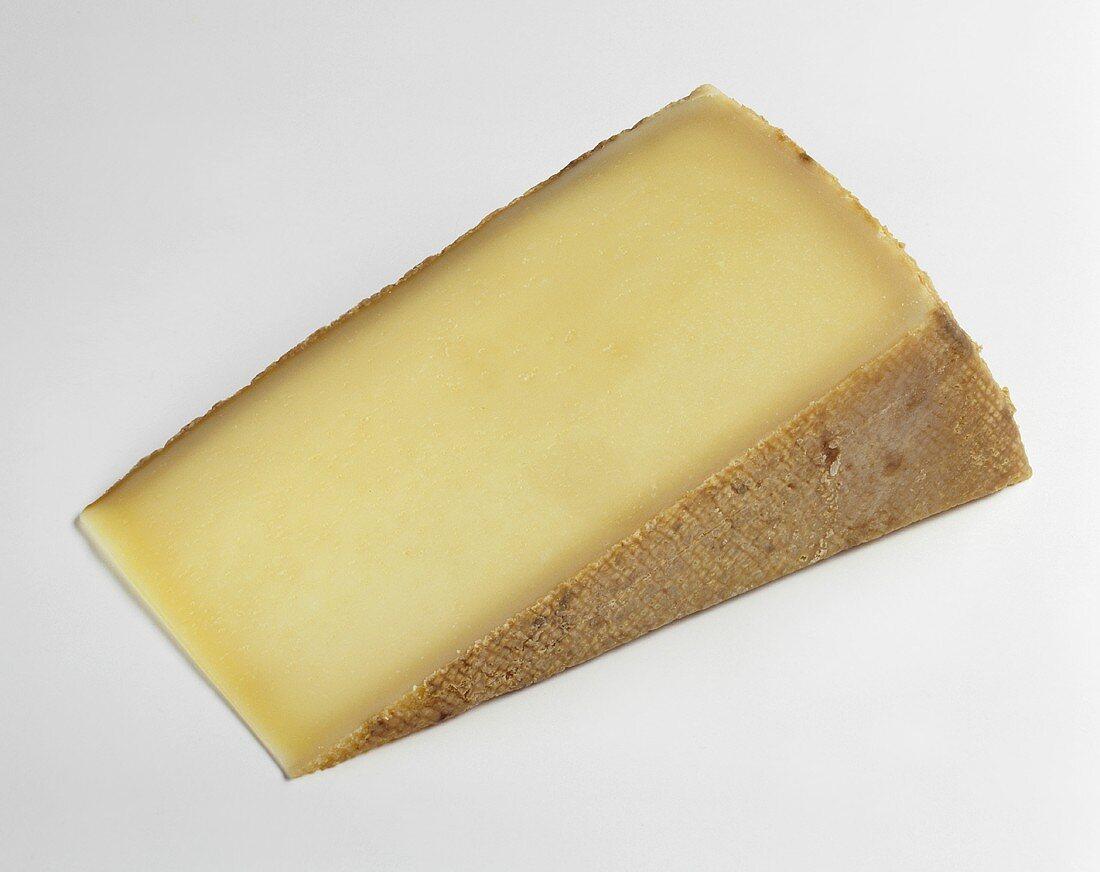 A Wedge of Guyere Cheese