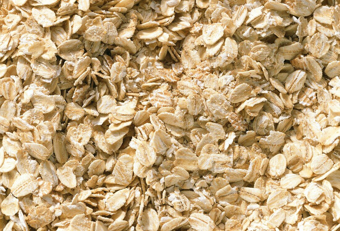 Oat flakes (close-up)