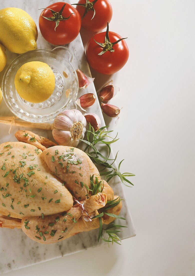 Whole Seasoned Chicken