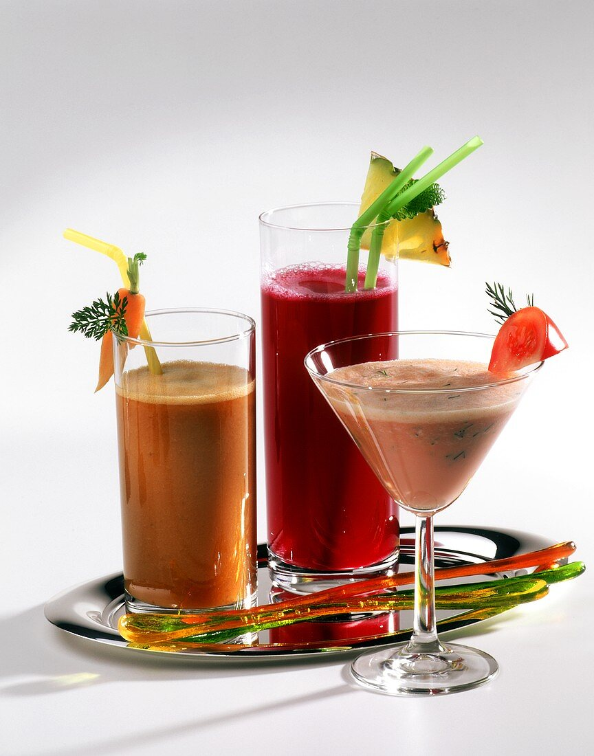 Fitness drink, mineral drink and energy cocktail