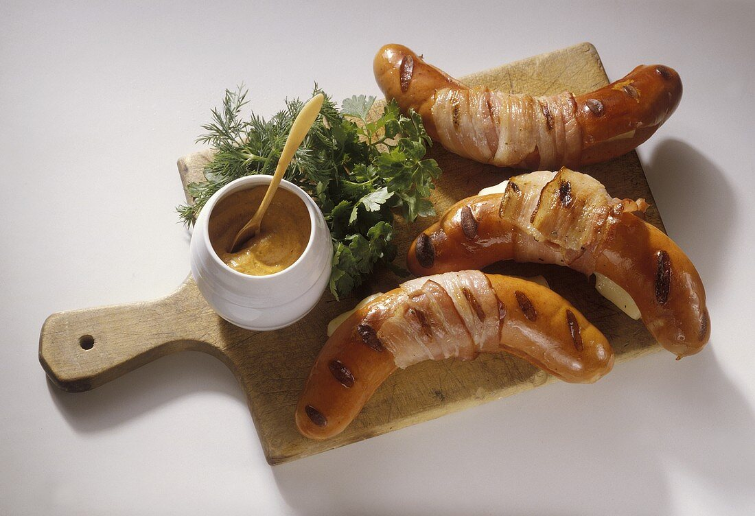 Grilled Bernese Sausages