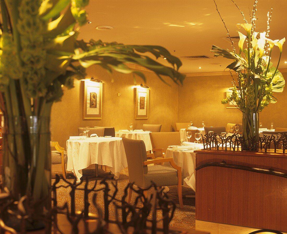 Restaurant of the Hilton Hotel in Adelaide, Australia