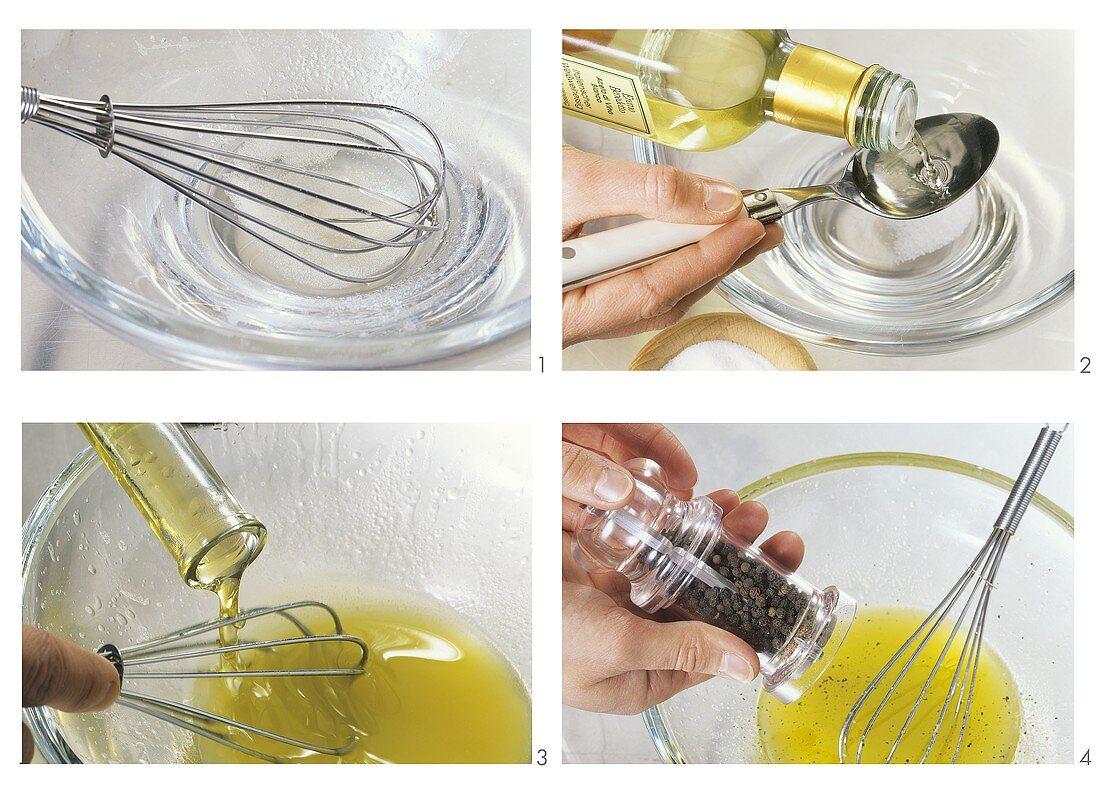 Making vinaigrette