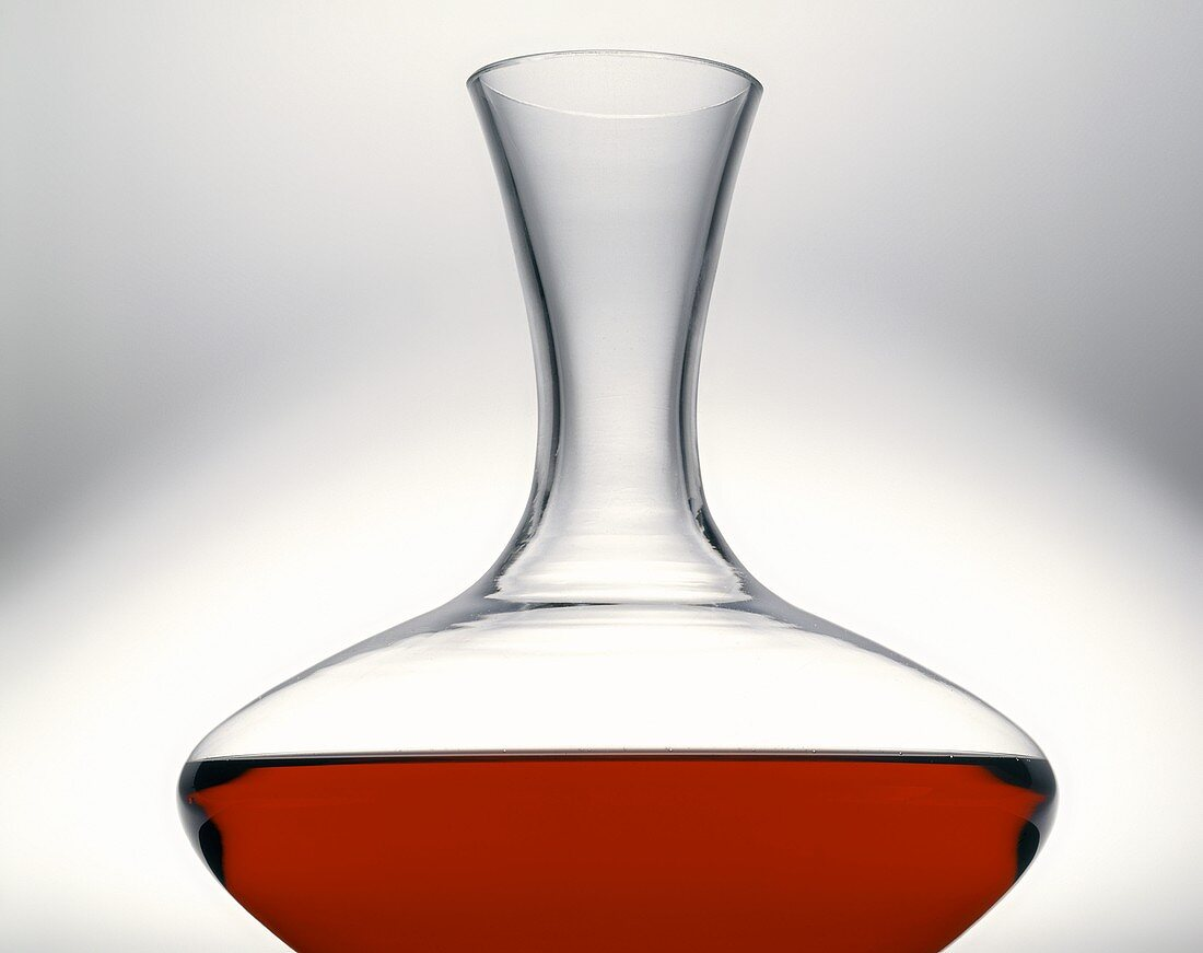 Red Wine in Carafe
