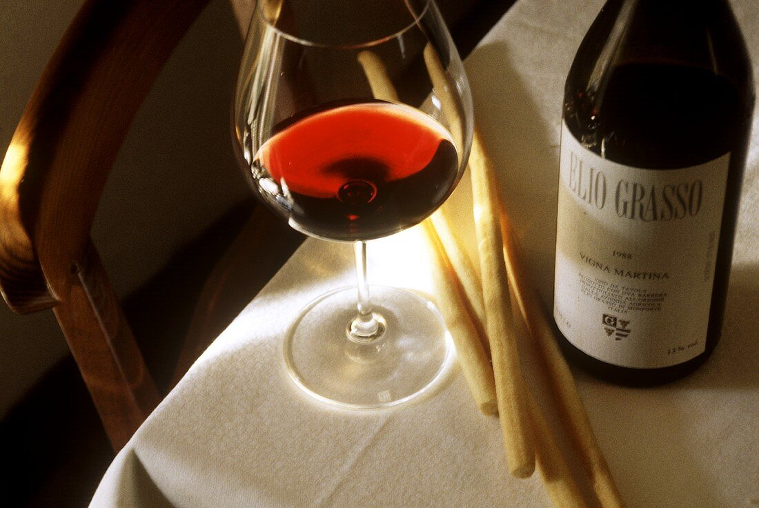 Red wine from Piedmont (Vigna Martina by Elio Grasso)