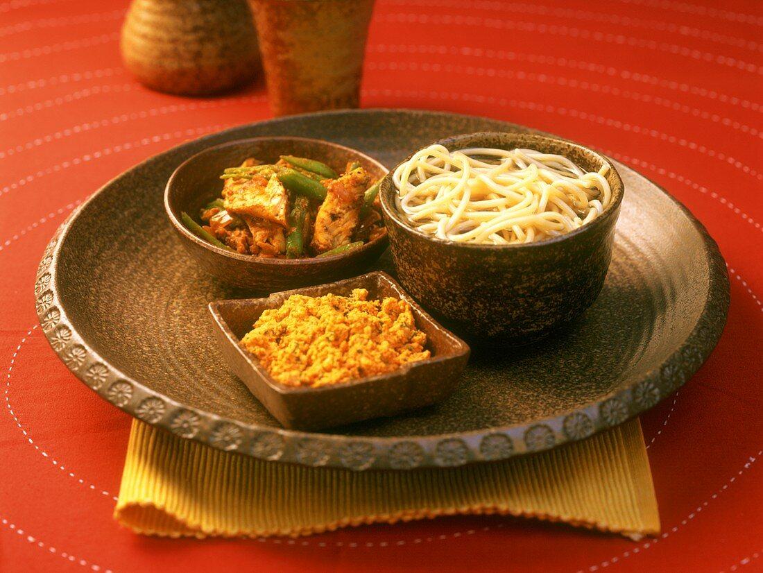 Thupka (noodles in broth) Himachal Pradesh, India