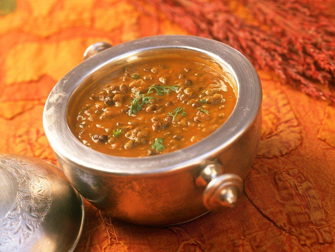 Dal panchratan (lentil curry), Rajasthan, India