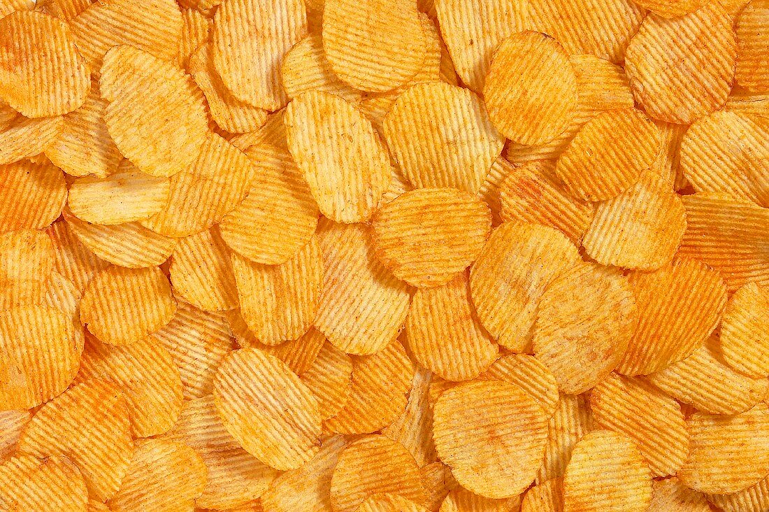 Paprika chips (filling the picture)