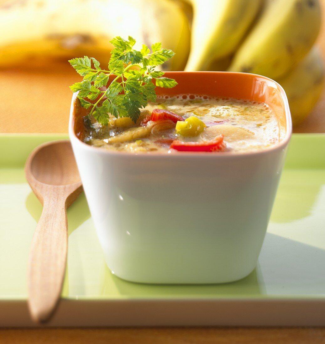 Banana and chili soup (Thailand)