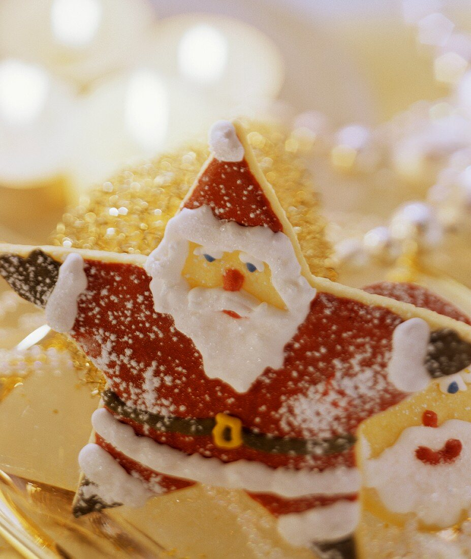 A sweet pastry Father Christmas