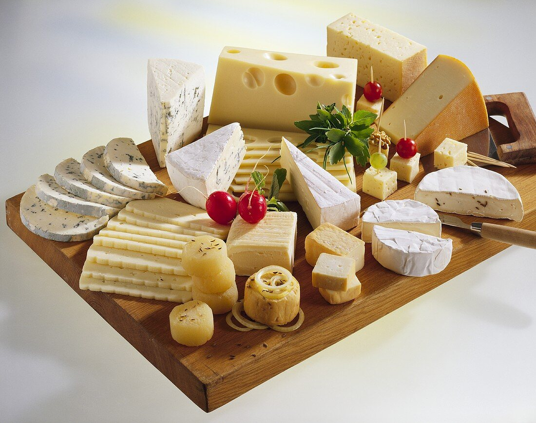 Cheese board from Germany