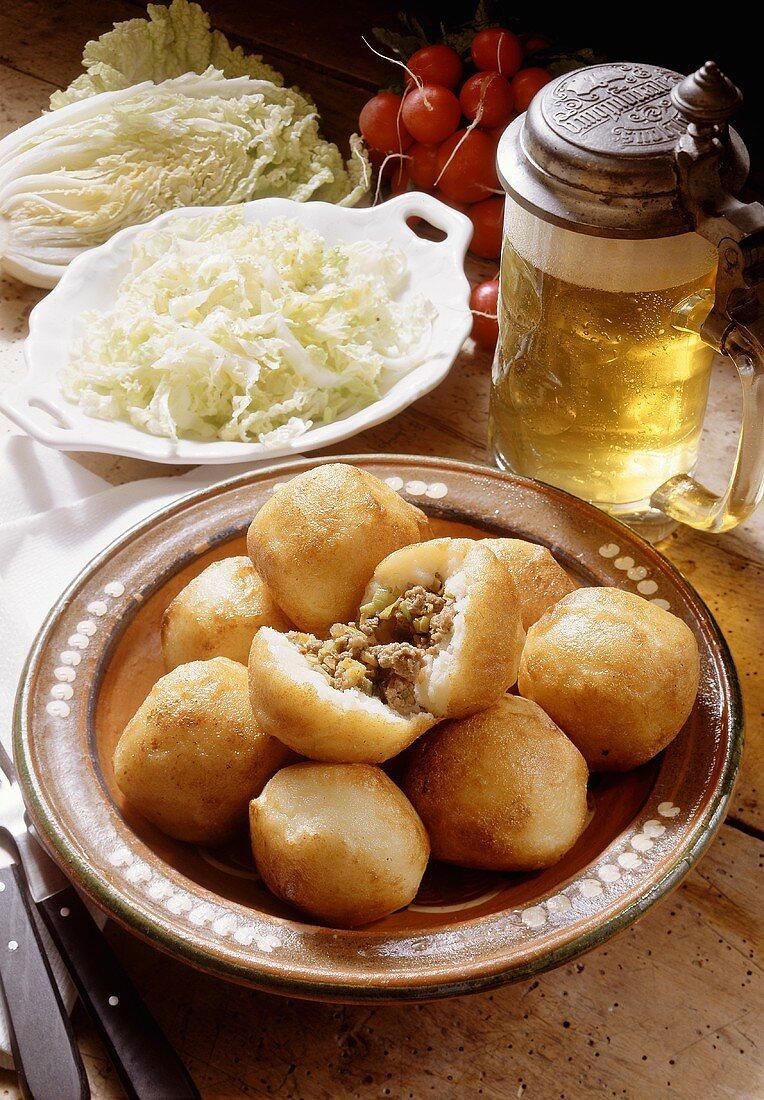 Hearty Stuffed Potato Dumplings