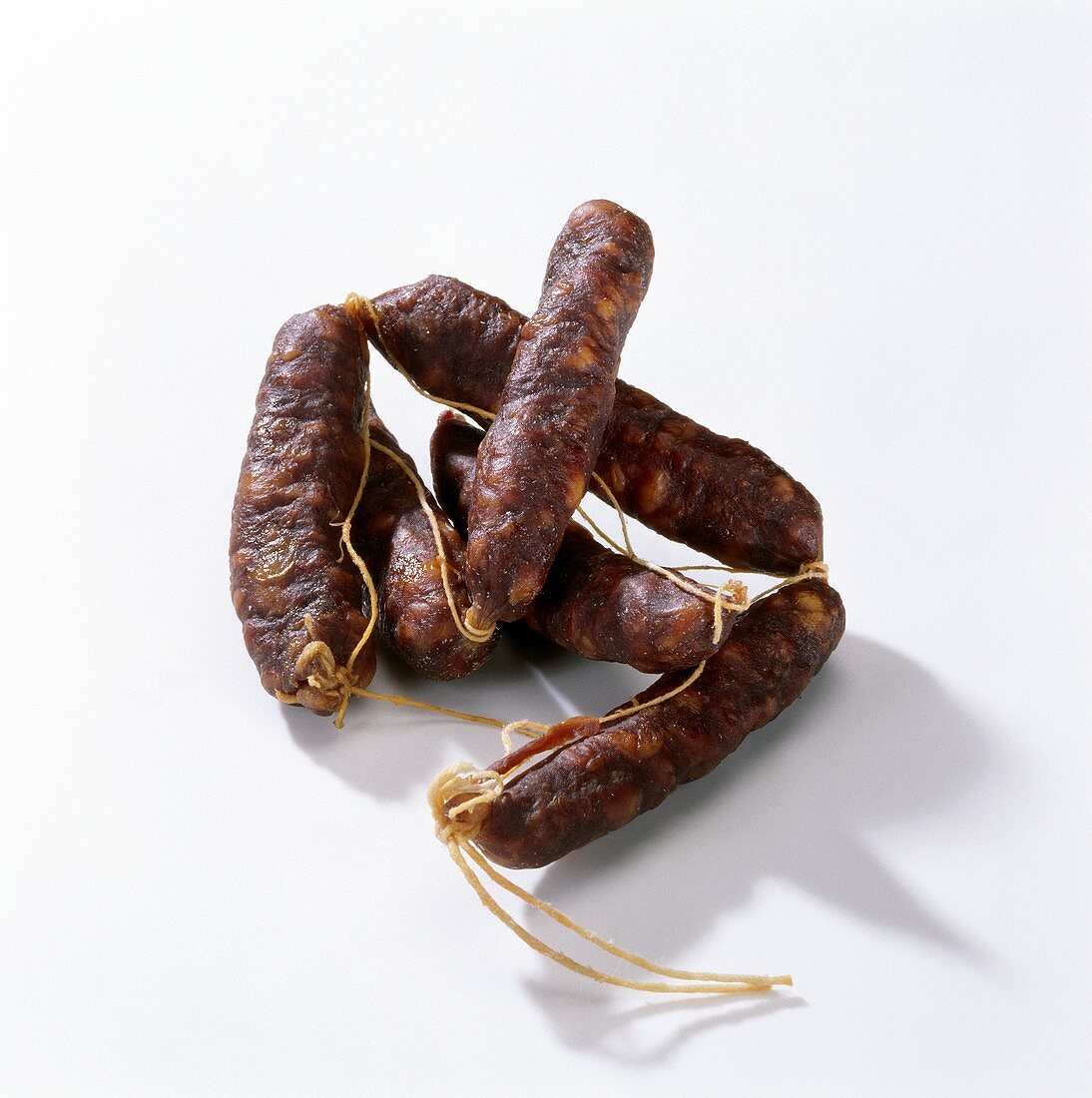 Hard cured sausages from Mallorca