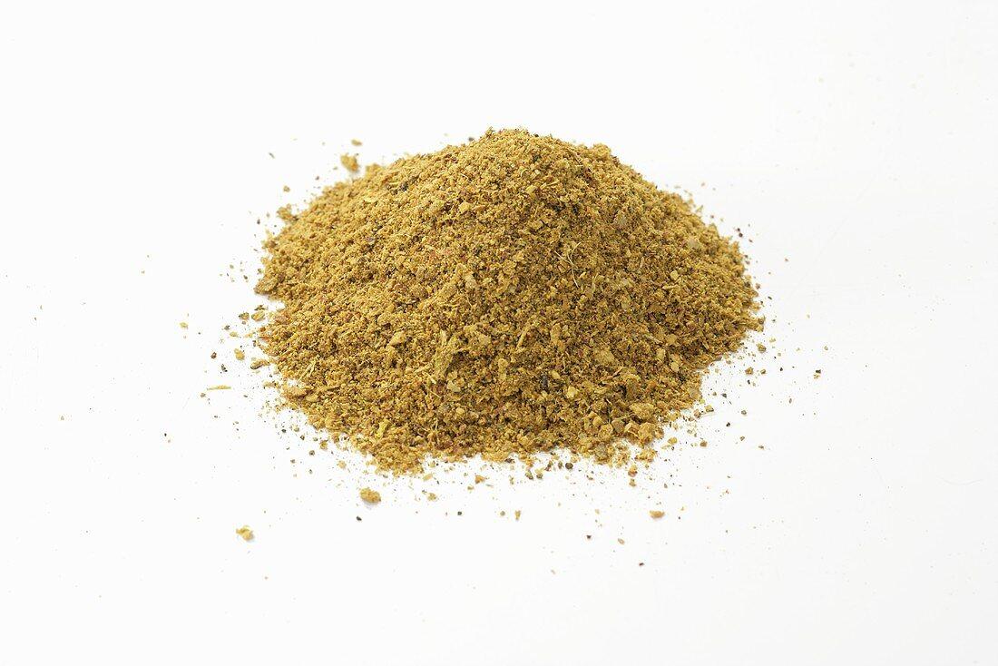 A heap of Raz el Hanout (Moroccan spice mixture)