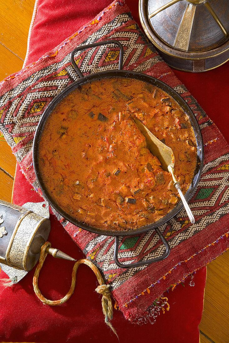 Savoury terrine from Mauritania, N. Africa
