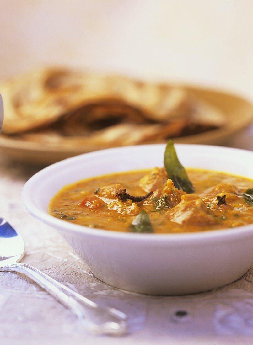 Dal gosht (Lamb and lentil curry, N. India)