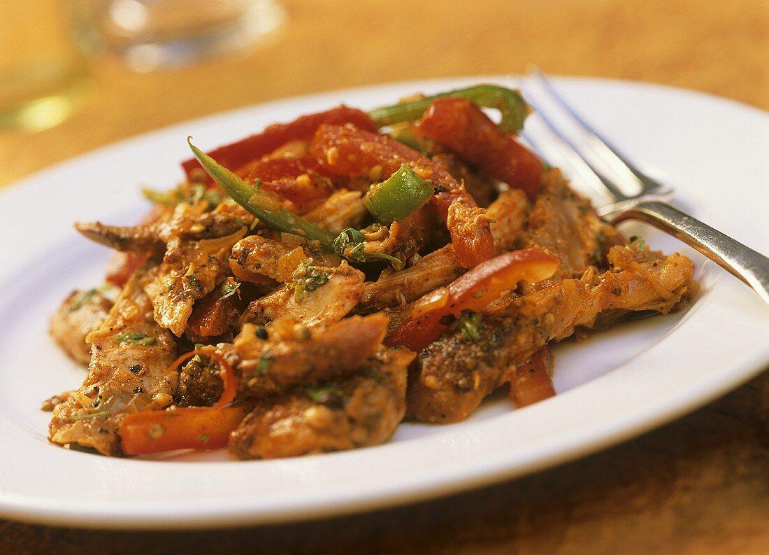 Murg ka mukul (Indian chicken dish)