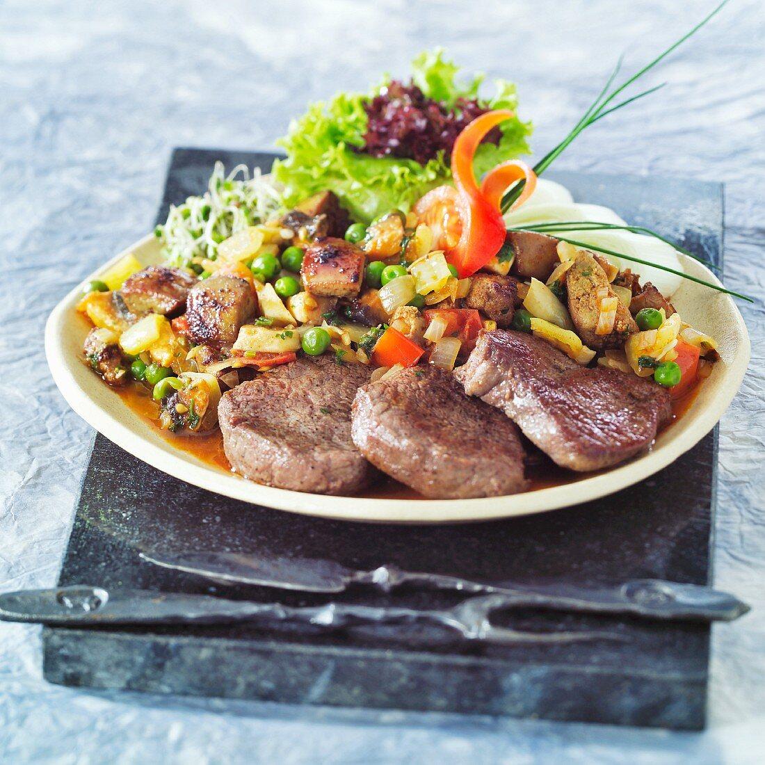 Budapest-style beef sirloin