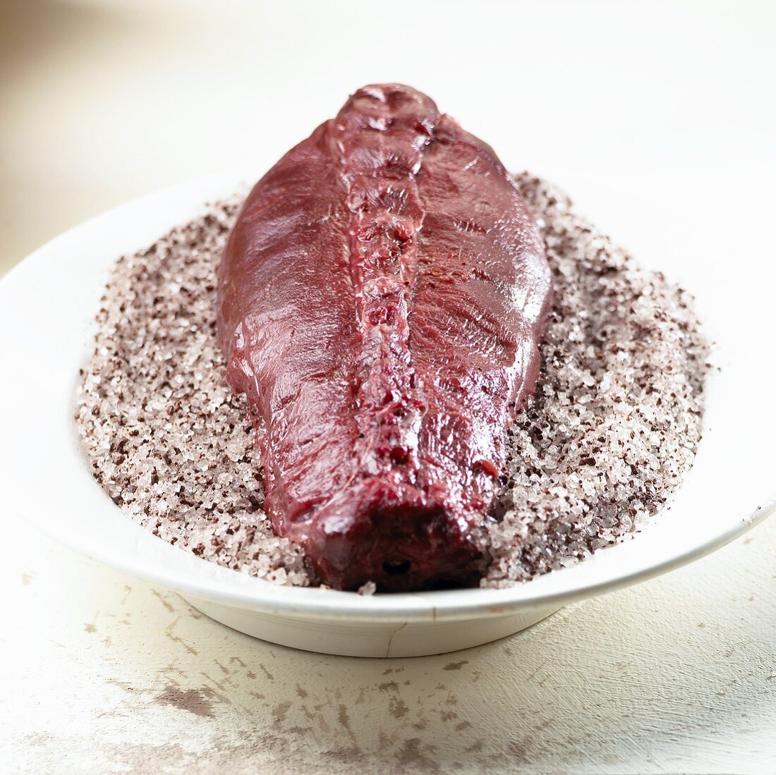 Saddle of hare in salt