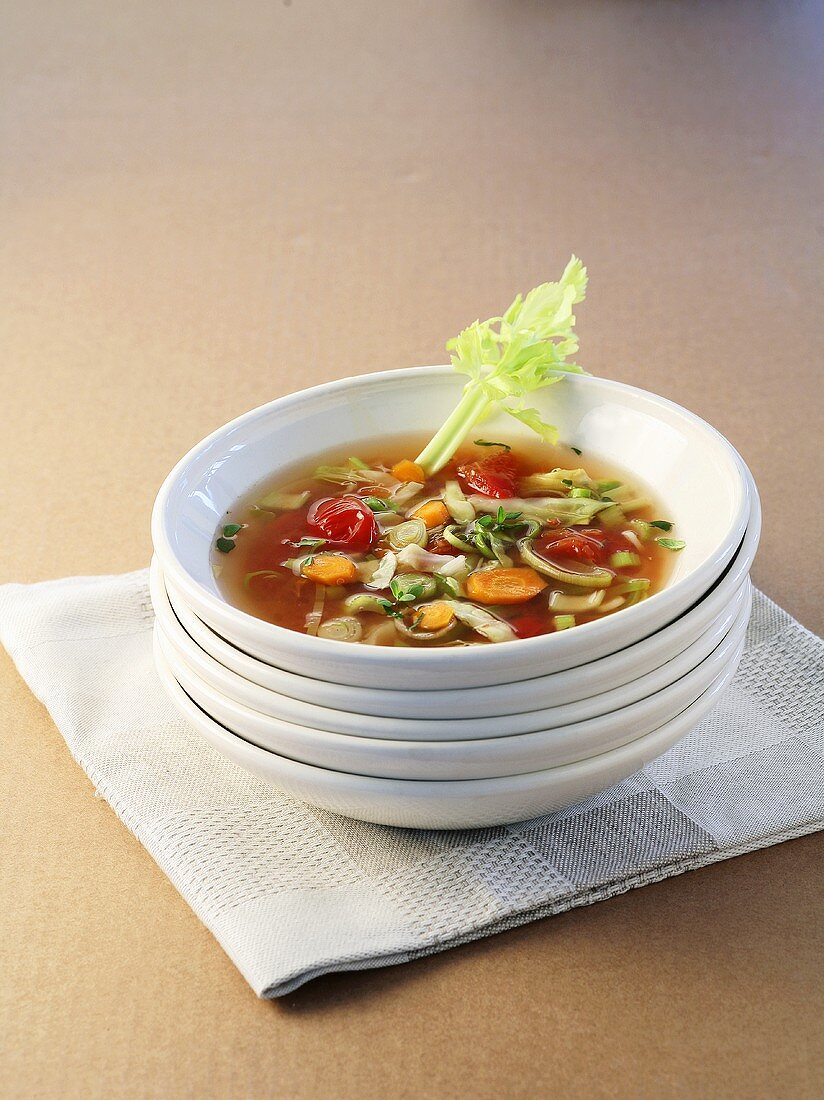 Magic cabbage soup