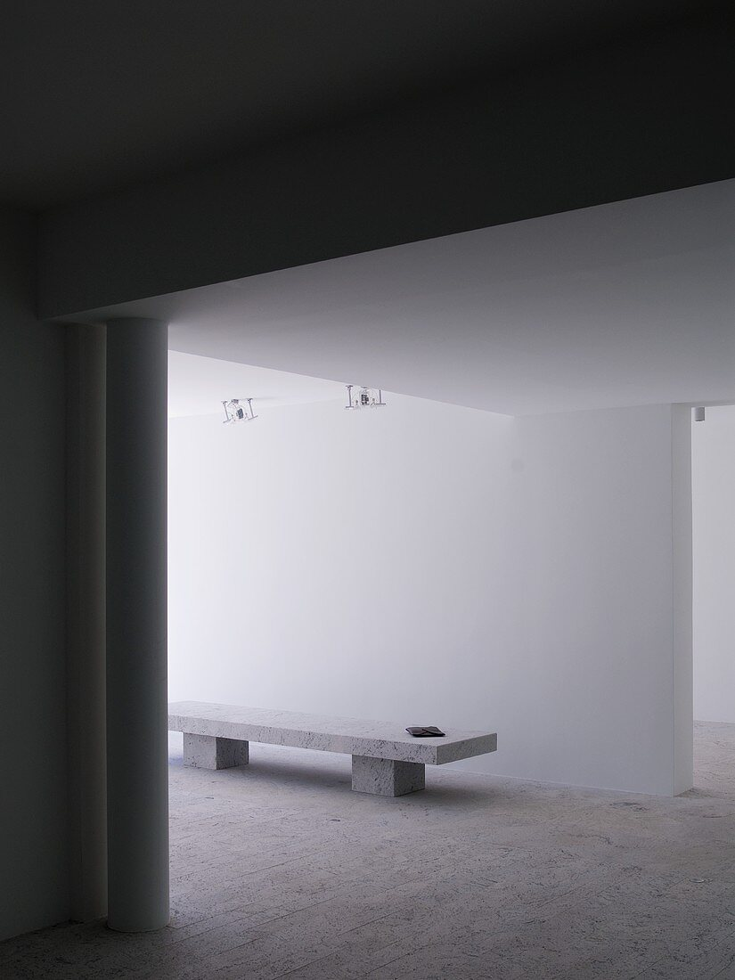 Interior of an architect-designed house