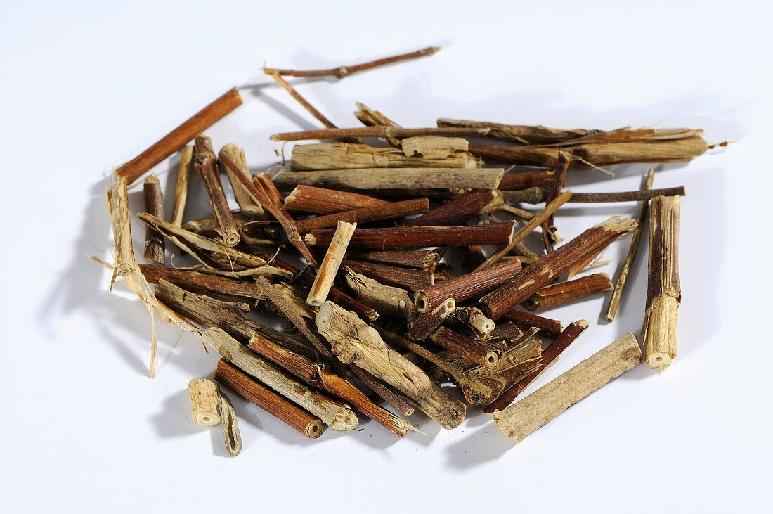 Dried honeysuckle stem