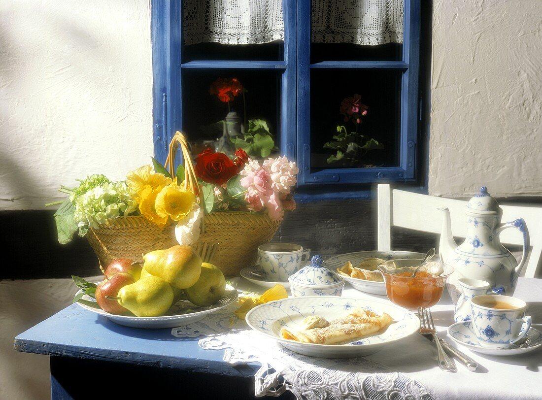 Breakfast Table In Bornholm
