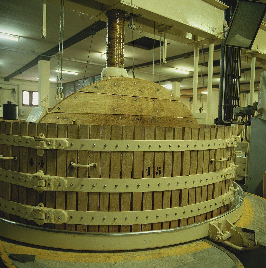Old press, Moet et Chandon, Epernay, Champagne, France