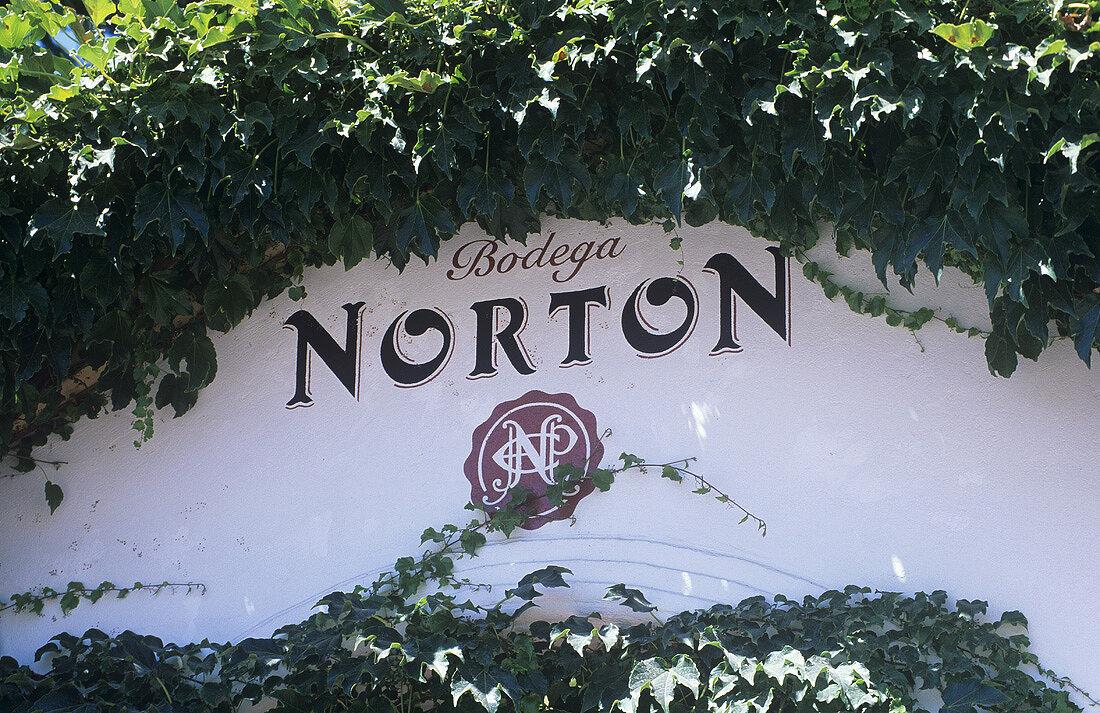 Entrance to Bodega Norton, Lujan de Cuyo, Mendoza, Argentina