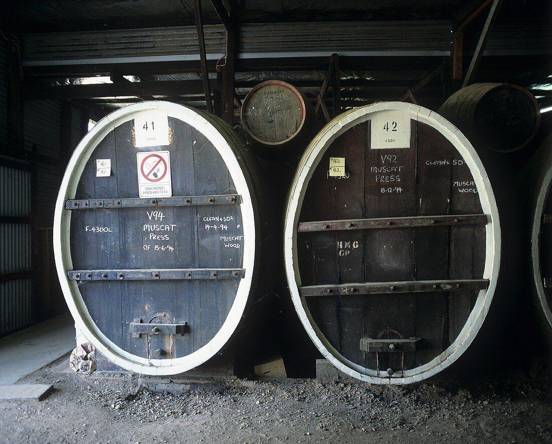 Morris Winery, Rutherglen, Victoria, Australia