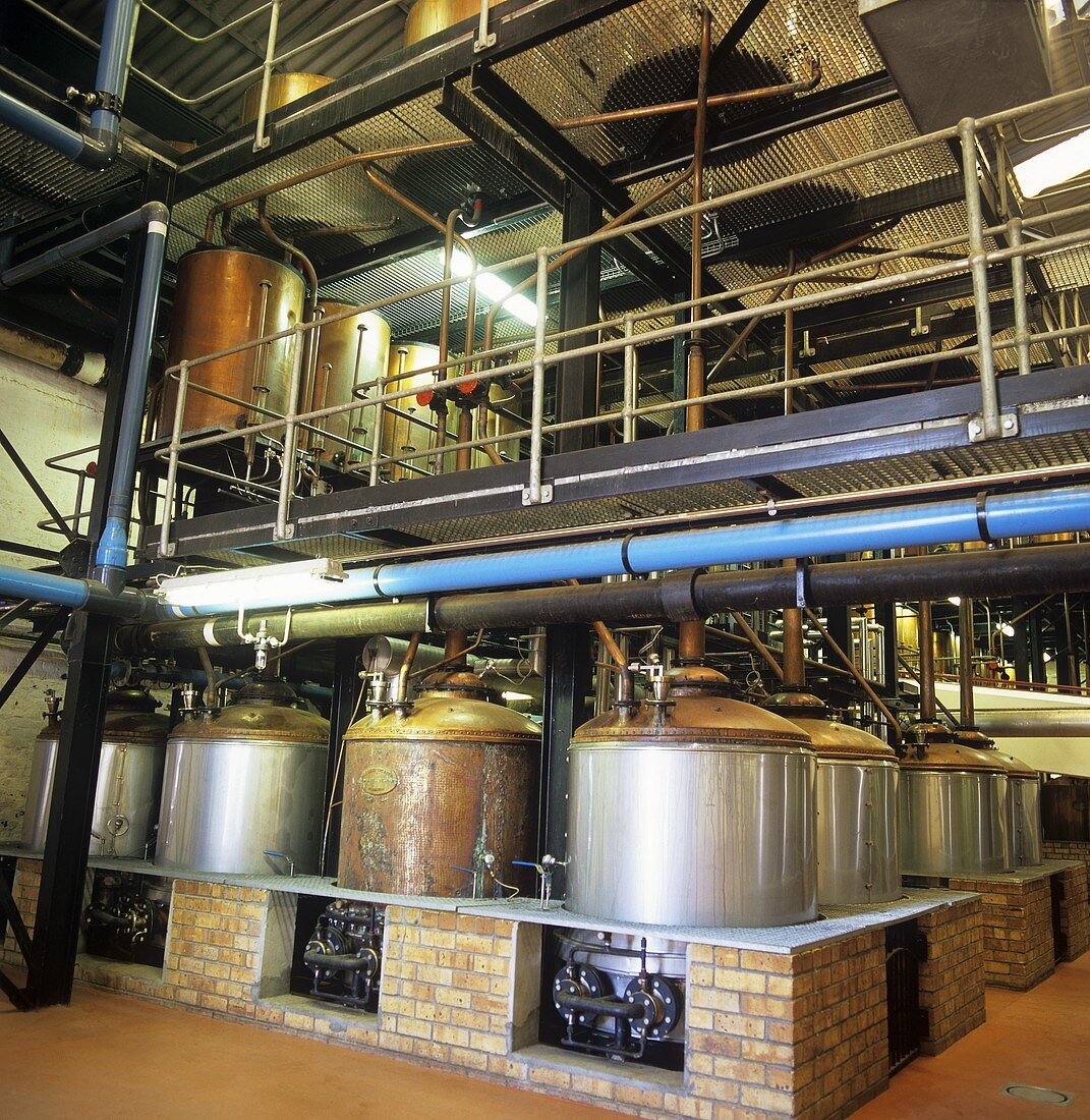 KWV House of Brandy, Worcester, S. Africa