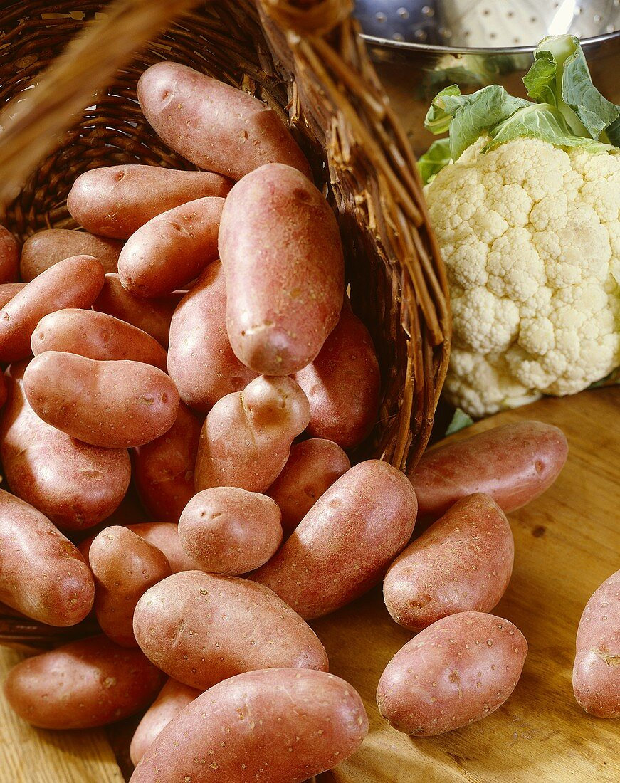 Potatoes, variety 'Cherie'
