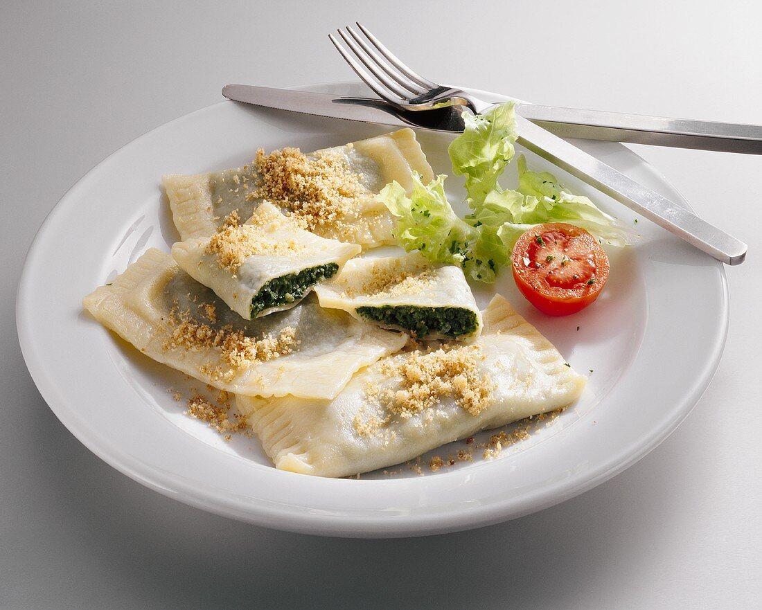 Swabian pasta parcels (Maultaschen)