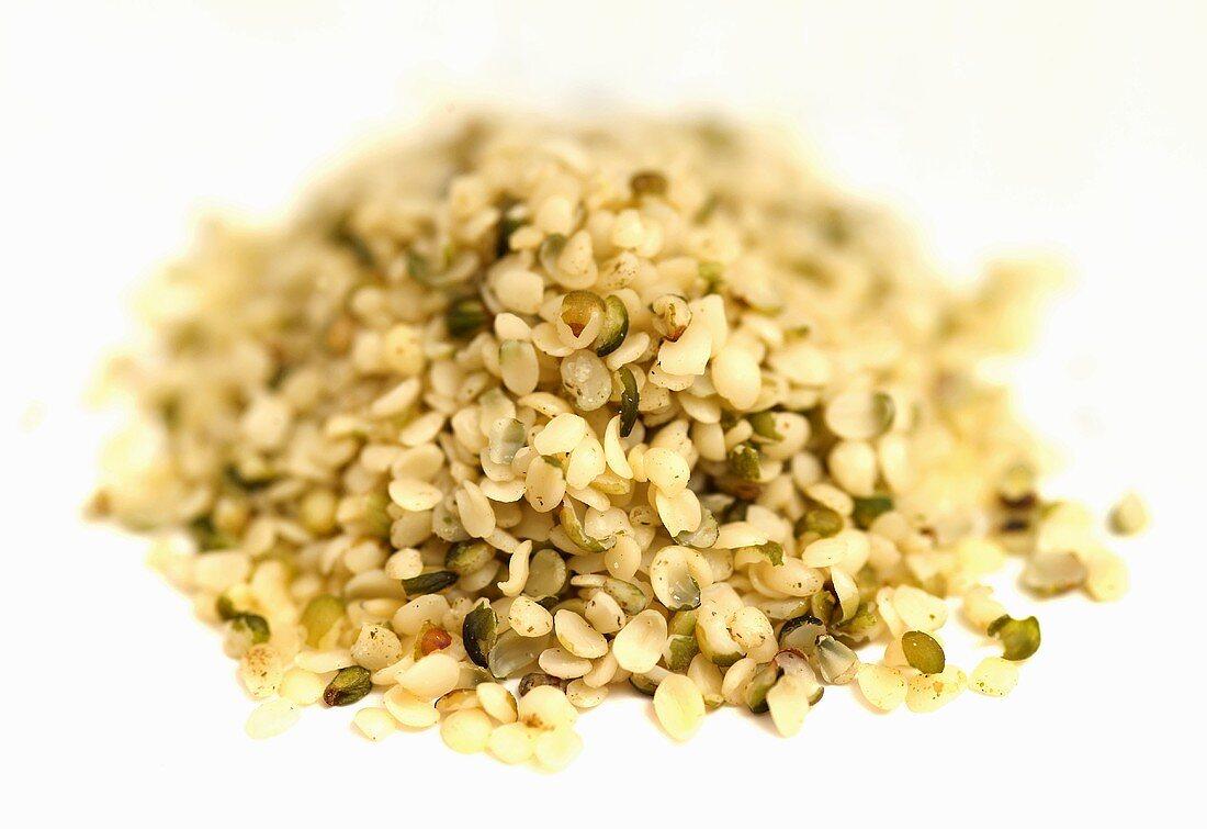 Lots of alfalfa seeds