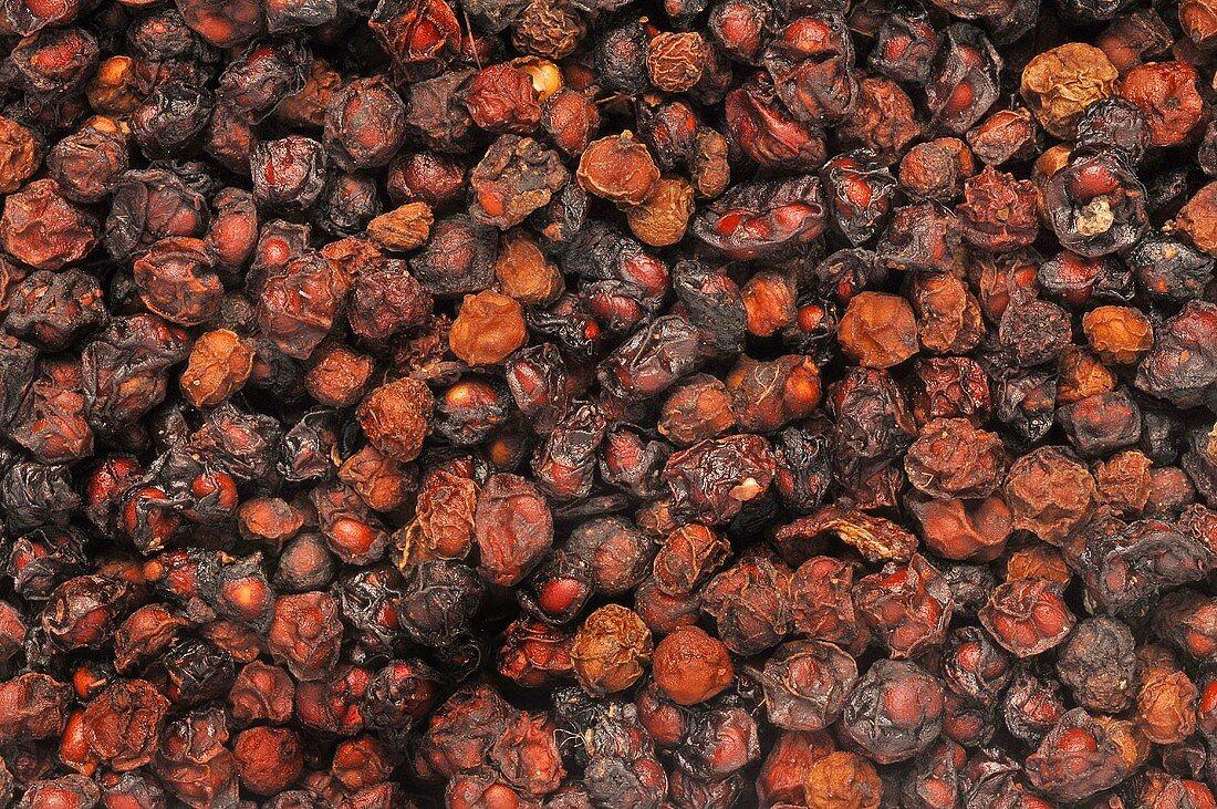 Dried Schisandra berries