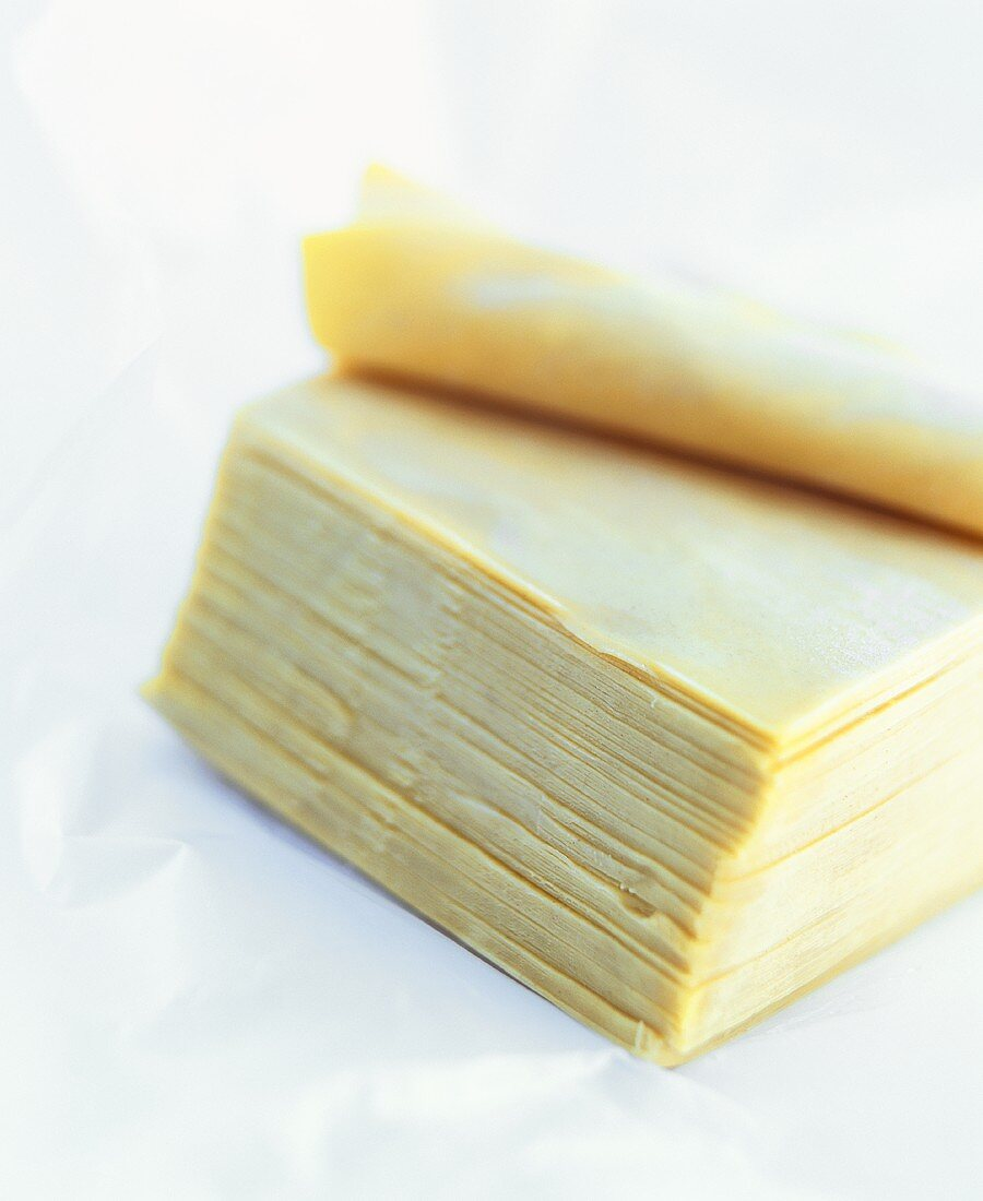 Asian rice noodle sheets
