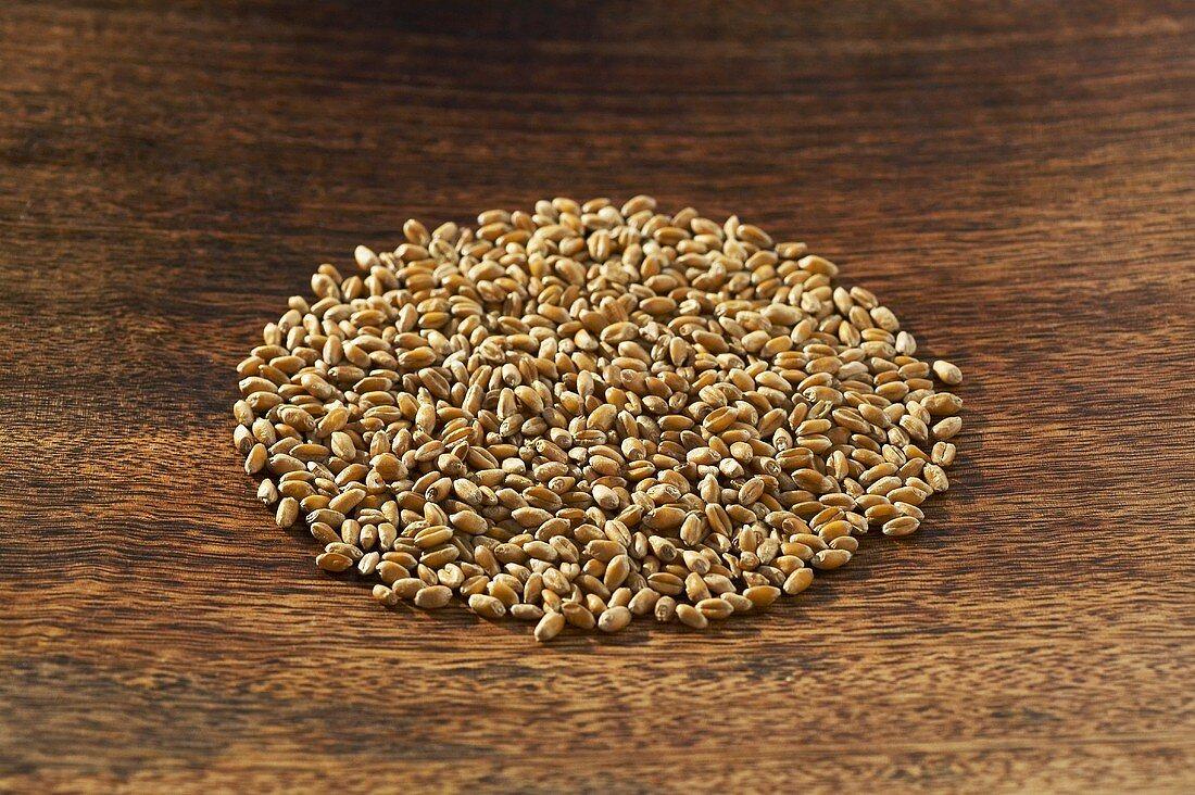 A circle of wheat