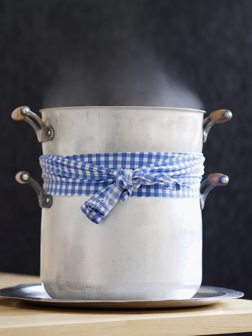 Couscoussier (traditional steaming pot, Morocco)