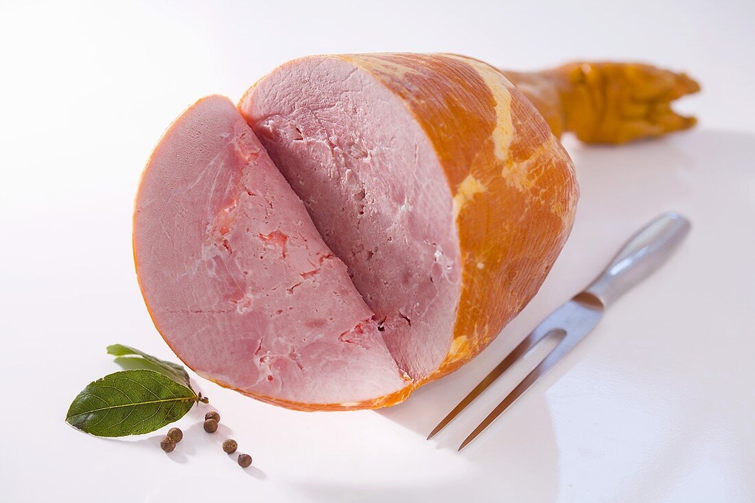Ham with foot