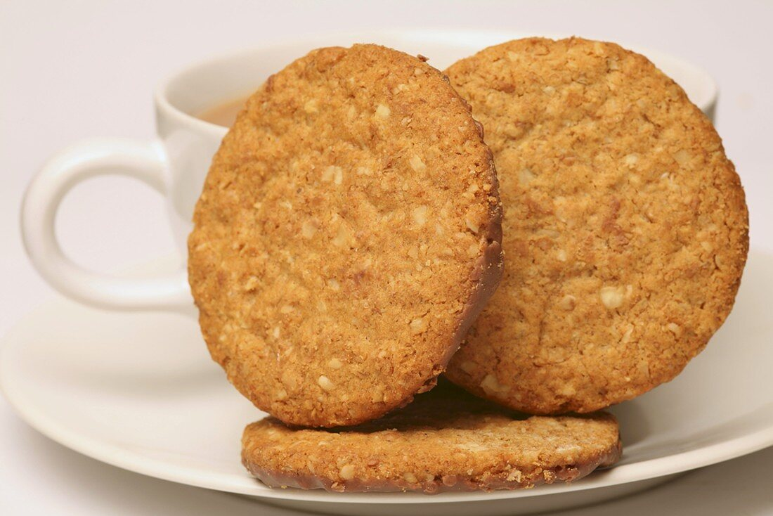 Rolled oat biscuits, UK