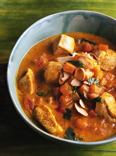 Mulligatawny (Anglo-Indian chicken soup)